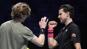 ATP Finals: Pewny awansu Thiem przegrał z Rublowem