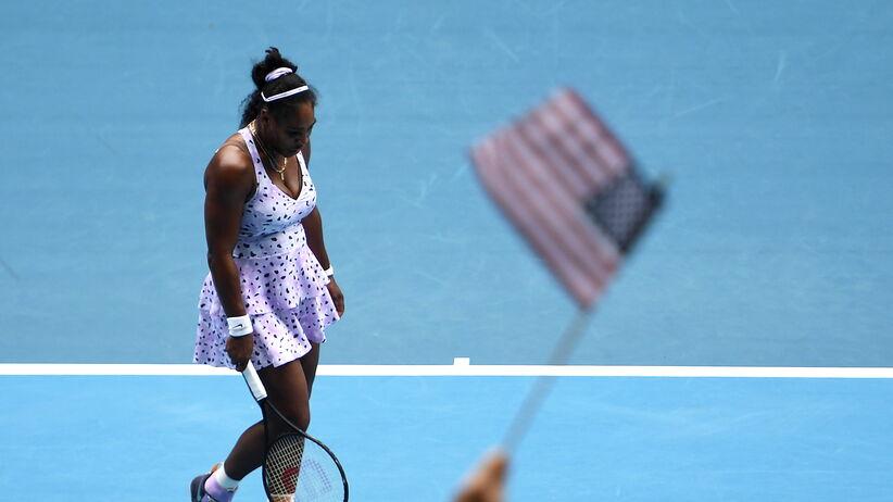 Serena Williams przegrała w 3. rundzie Australian Open