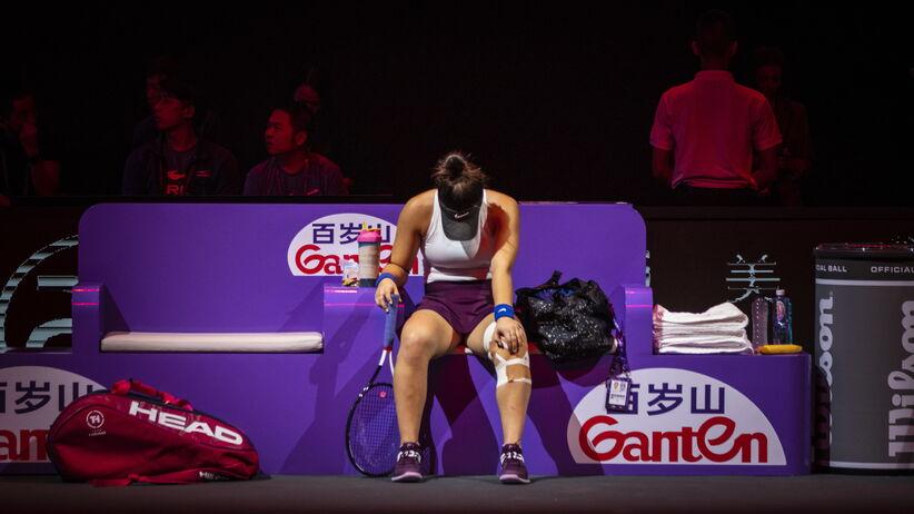 Bianca Andreescu wycofała się z WTA Finals