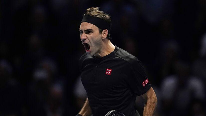 Roger Federer w półfinale ATP Finals