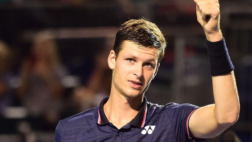 Hubert Hurkacz wygrał turniej ATP w Winston Salem