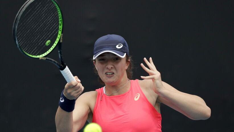 Iga Świątek w drugiej rundzie WTA w Dausze