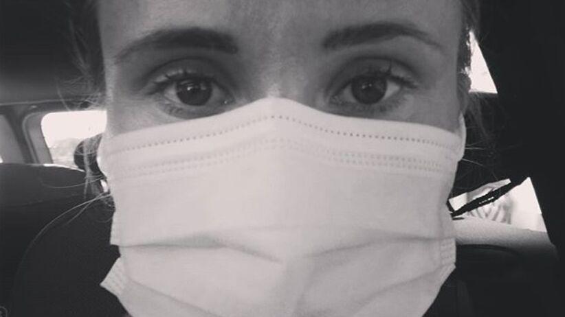 Katarzyna Kawa zakażona koronawirusem