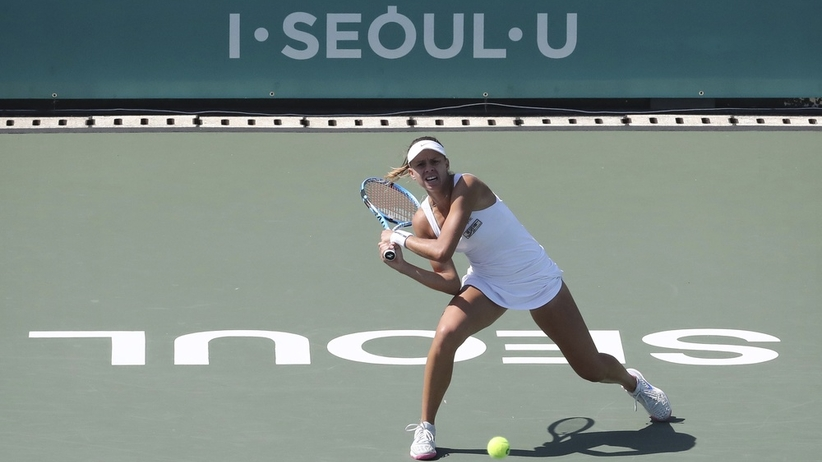 Magda Linette w ćwierćfinale w Seulu