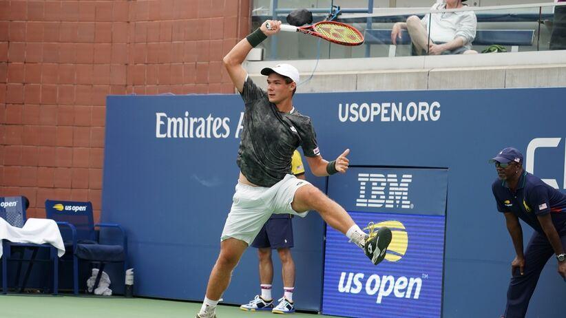 Kamil Majchrzak w trzeciej rundzie US Open 2019
