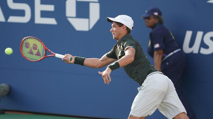 Kamil Majchrzak odpadł z US Open