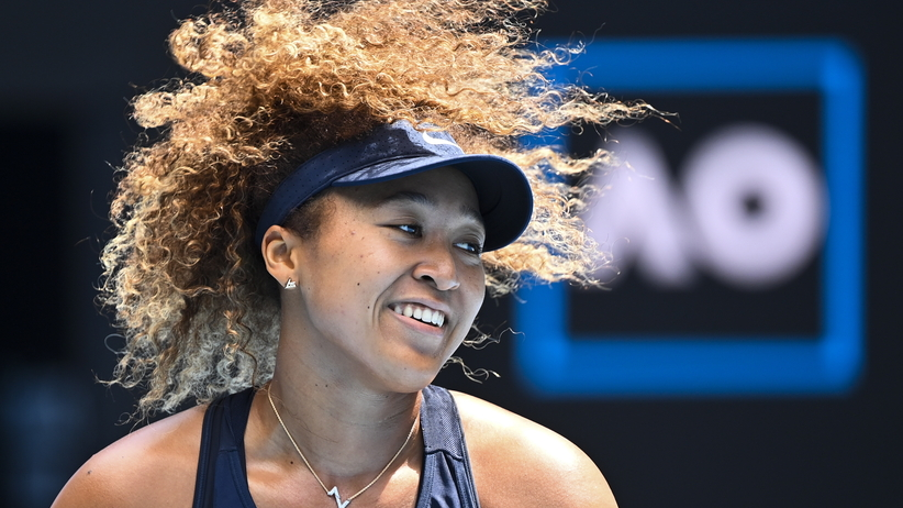 Naomi Osaka w finale AO 2021