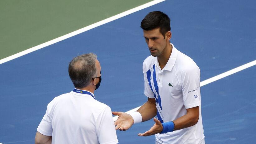 Komunikat US Open po dyskwalifikacji Djokovicia