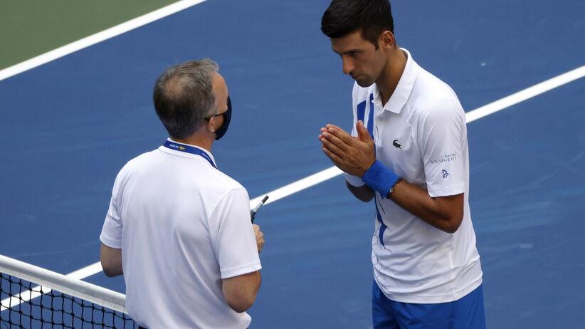 Novak Djoković zdyskwalifikowany na US Open