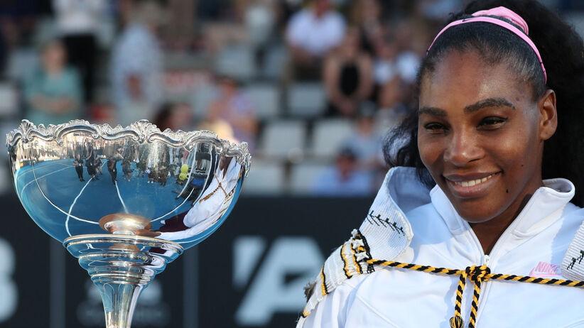 Serena Williams przekażę premię z Auckland na walkę z pożarami w Australii
