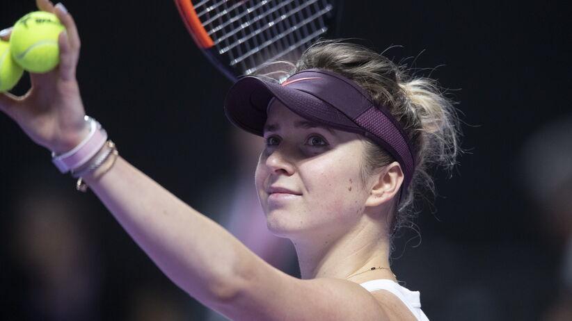 Elina Svitolina w finale WTA Finals