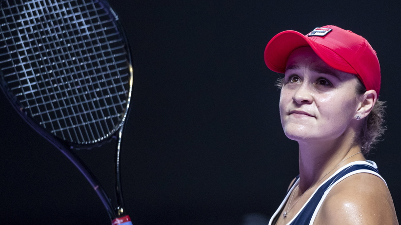 Ashleigh Barty w finale WTA Finals