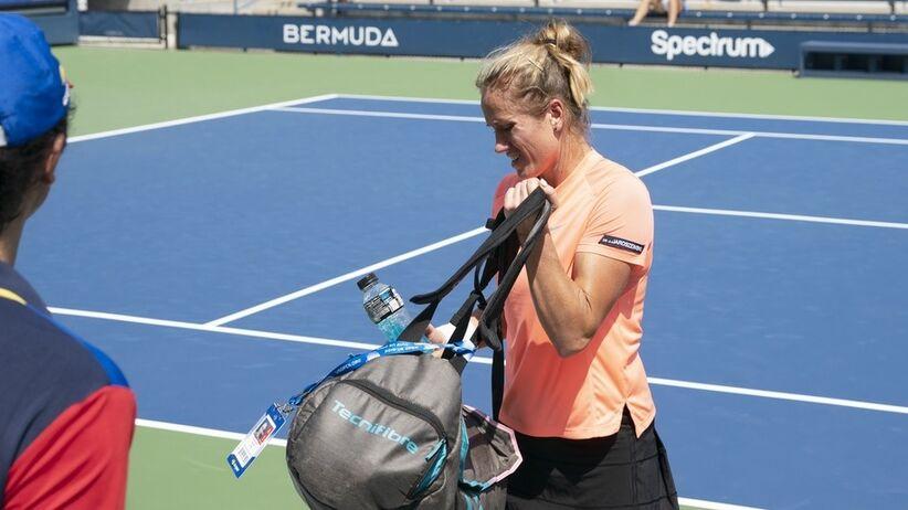 Katarzyna Kawa odpadła z turnieju WTA w Osace