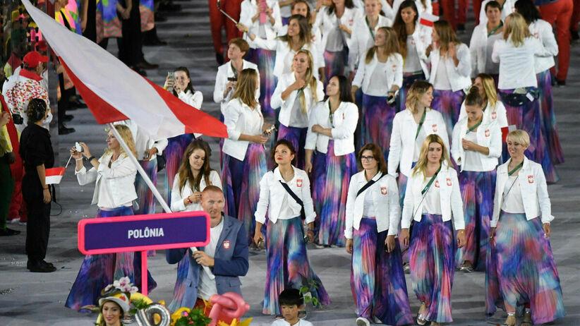 Parada sportowców na ceremonii otwarcia IO