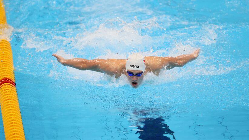Jakub Majerski w finale IO w Tokio. 20-latek pobił wynik Phelpsa z Rio