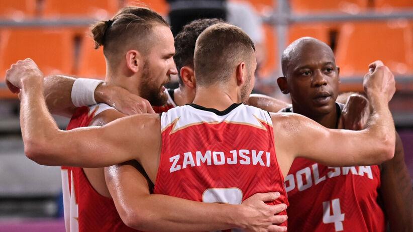 Koszykarze 3x3 lepsi od Rosjan. Ważne zwycięstwo Polaków