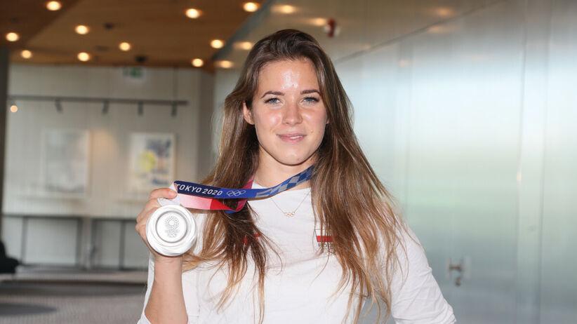 Maria Andrejczyk zlicytowała medal