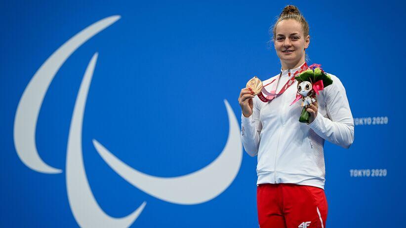 Oliwia Jabłońska brązową medalistką igrzysk paraolimpijskich w Tokio