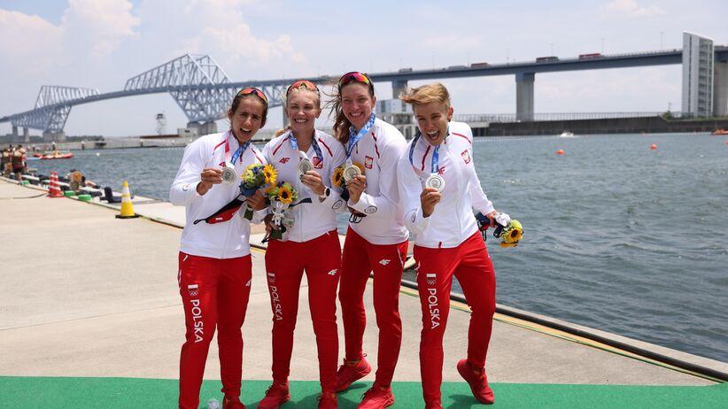 Polskie wioślarski odebrały srebrne medale olimpijskie
