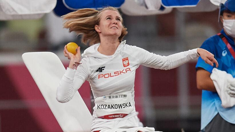Róża Kozakowska srebrną medalistką igrzysk paraolimpijskich w Tokio