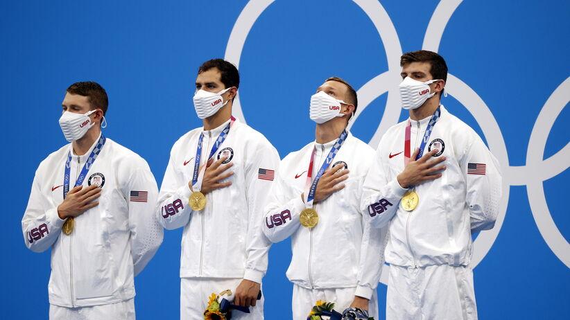 Amerykańscy pływacy